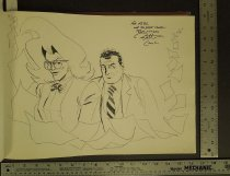 Image of [Wolff and Byrd character sketch] - Lash, Batton