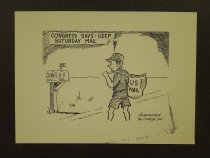 Image of Congress Says - Keep Saturday Mail - Nonnamaker, William D., 1930-2012