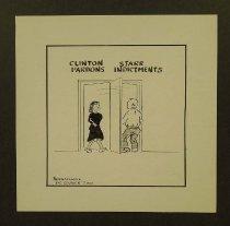 Image of Clinton Pardons Starr Indictments  - Nonnamaker, William D., 1930-2012