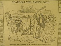 Image of Guarding The Party Fold. - McDougall, Walter, 1858-1938