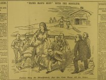 """Image of """"Blind Man's Buff"""" With The Boodlers. - McDougall, Walter, 1858-1938"""