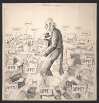 Image of Gimme-ocracy - Ireland, Billy, 1880-1935