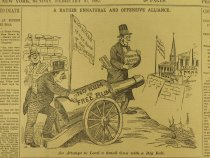 Image of A Rather Unnatural And Offensive Alliance. - McDougall, Walter, 1858-1938