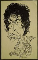 Image of [Dark curly haired man with earring in wheelchair] - Cogan, Jim