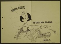 Image of Human rights. The great wail of China - Bateup, Ross