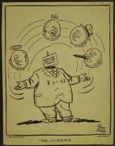 Image of The juggler - Collins, John, 1917-2007