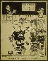 Image of International hockey tournament - Collins, John, 1917-2007