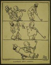 Image of Castro's golf lesson - Collins, John, 1917-2007