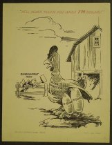 Image of He'll never touch you while I'M around! - Tingley, Merle R., 1921-