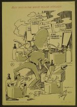 Image of Busy days in the White House kitchen - Tingley, Merle R., 1921-