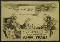Image of The final World Chess Champoionship of all time Bobby-Fischer - Schopf, Oliver, 1960-