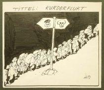 Image of Kurderflukt - Skogstad, Herbjorn (HERB), 1946-