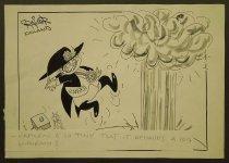 Image of Napolen [sic] is so tiny that it demands a big mushroom! - Riiniuaki, Raimo