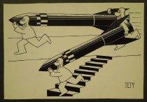 Image of [Men carrying rockets] - Boros, Stefan Tety