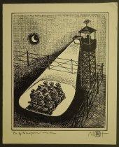 Image of [Prisoners sitting in spotlight] - Ignat, Mihai