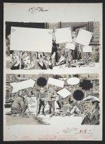 Image of Distinctive Picket Lines - Woodbridge, George Charles, 1930-2004