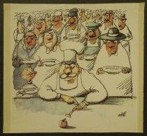 Image of [Printed color copies of four cartoons] - Vasilevski, Ane, 1947-