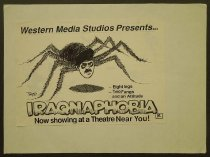 Image of Western media studios presnets...Eight legs two fangs and an attitude Iraqnaphobia now showing at a theatre near you! - Fatunla, Tayo, 1961-