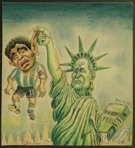 Image of Maradona & Havelange war. World Cup 94 - Alizadeh, Javad, 1953-