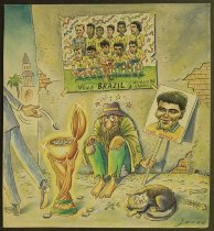 Image of Championship of 94 World Cup: Brazil's poor nation's delight!! - Alizadeh, Javad, 1953-