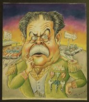 "Image of ""Local cartoon"" - Alizadeh, Javad, 1953-"