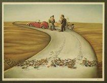 Image of [Prints of four cartoons about environmental degradation] - Koroglu, Muhittin, 1948-