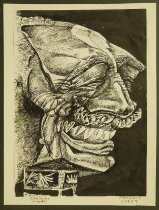 Image of President Sadat - Bahgoury, George, 1932-