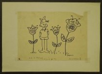 Image of [Boy with flowers] - Navon, Arieh, 1909-1996