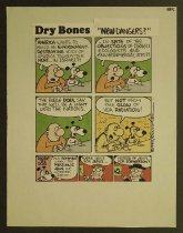 "Image of Dry bones ""New dangers?"" - Kirschen, Yaakov, 1937?-"