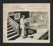 Image of 'The Night People vs 'Creeping Meatballism.'' - Wood, Wallace, 1917?-1981