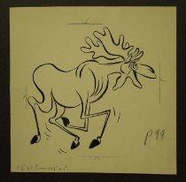 Image of [Joyful Moose] - Nofziger, Edward, 1913-2000