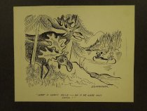 Image of What a lovely voice - ah if he were only moose! - Nofziger, Edward, 1913-2000