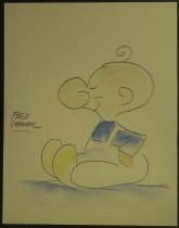 Image of [Chalk talk drawing of Tater] - Lasswell, Fred, 1916-2001