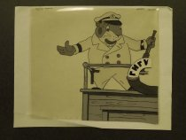 Image of [Mouse? ship's captain] - Suteev, Vladimir, 1903-1993