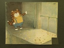 Image of [Cat at an open door] - Savchenko, Anatoliy