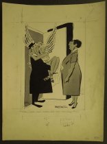 """Image of """"Dear, she just flew into the rectory!"""" - Patterson, Russell, 1893-1977"""