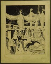 Image of 'Dream hotel lobby' - Patterson, Russell, 1893-1977