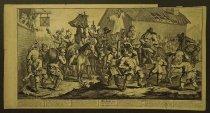 Image of Hudibras encounters the Skimmington - Hogarth, William, 1697-1764