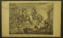 Image of Sir Hudibras his passing worth, the manner how he sally'd forth - Hogarth, William, 1697-1764