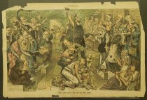 Image of Judge's wax-works, ---- The political Eden Musee - Gillam, Bernhard, 1856-1896