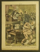 Image of He instituted the ordeal - can he stand it himself? - Gillam, Bernhard, 1856-1896
