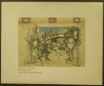 Image of Original layout by Louis Jambor for 'Gulliver's Travels' - Jambor, Louis