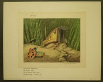 """Image of Idea sketch...for Lady Bug's house """"Mr. Bug (Hoppity) goes to town"""" - Little, Robert, 1902-1994"""