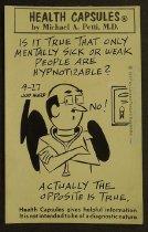 Image of Health capsules - Hurd, Justin (Jud), 1912-2005
