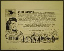 Image of Americans on stamps. Chief Joseph... - Stenzel, Al, 1897-1979