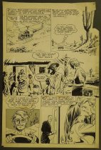 Image of [Pages 5 and 8 of the 'For my sake darling...' story from the comic book 'Time for love' # 28] - García-López, José Luis, 1948-