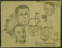 Image of [Lyndon B. Johnson and others] - Roberge, Frank, 1916-1976?