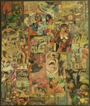 Image of [Comic book page collage] - Jacobson, Charles R.