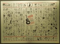 Image of AAEC Commemorative roster poster - Aguila, Dani, 1928-
