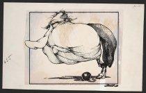 Image of [Nixon ball and chain] - Vanderbeek, Donald William, 1949-2014